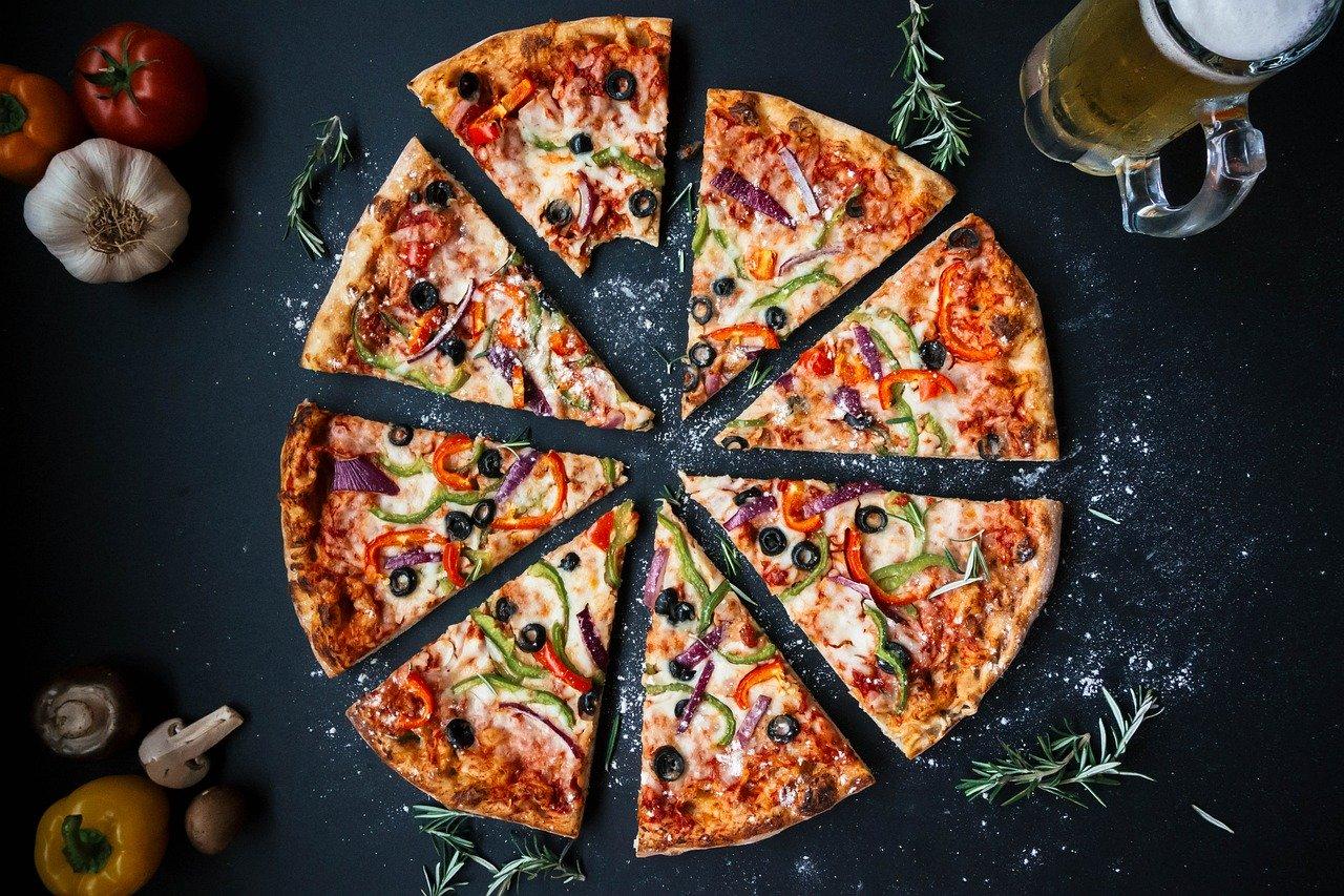 Pizza jako vpravé italské…